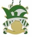 """Karnevalsorden """"Kappe"""" - Farbe - grün-weiß"""