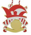 "Karnevalsorden ""Kappe"" - Farbe - rot-weiß"