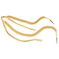 Fangschnur 2 Breitgeflechte (gold oder silber) - Farbe - gold