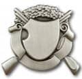 Schützenabzeichen 1 - Ausführung - altsilber
