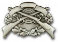 Schützenabzeichen 4 - Ausführung - altsilber