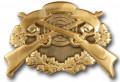 Schützenabzeichen 4 - Ausführung - altgold