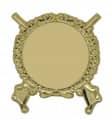 Schützenabzeichen mit Gravurfläche - Ausführung - gold
