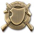Schützenabzeichen 1 - Ausführung - altgold