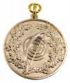 """Sportmedaille """"Bogen"""" - Ausführung - gold"""