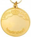Königsmedaille 1 - Ausführung - gold
