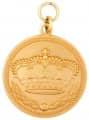 Königsmedaille 3 - Ausführung - gold