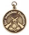 Medaille - Für besondere Verdienste - Farbe - bronze