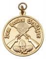 Medaille - Dem besten Schützen - Farbe - gold
