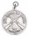 Medaille - Für Treue im Verein - Farbe - silber