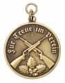 Medaille - Für Treue im Verein - Farbe - bronze