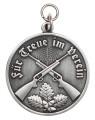 Medaille - Für Treue im Verein - Farbe - altsilber