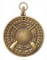 Schützenmedaille 2 - Farbe - bronze