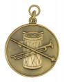 """Medaille""""Fanfarenzug"""" - Ausführung - bronze"""
