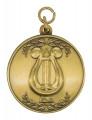 """Medaille""""Lyra"""" - Ausführung - altgold"""