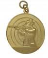 Schützenmedaille 4 - Farbe - gold