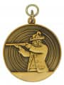 Schützenmedaille 4 - Farbe - bronze