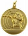 Schützenmedaille 8 - Farbe - gold