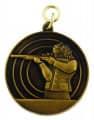 Schützenmedaille 8 - Farbe - bronze