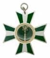 Schützenorden - Farbe - grün-weiß