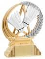 Trophäe Badminton FS31340 gold