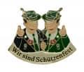 """""""Wir sind Schützenfest"""" - Anstecker"""