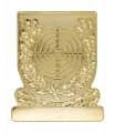 Meisterschaftsabzeichen Scheibe - Farbe - gold