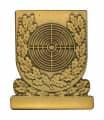 Meisterschaftabzeichen Scheibe - Ausführung - bronze
