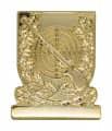 Meisterschaftsabzeichen Gewehr - Farbe - gold