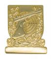 Meisterschaftabzeichen Sportpistole - Ausführung - gold