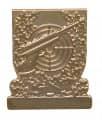 Meisterschaftsabzeichen Luftpistole - Farbe - gold