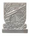 Meisterschaftabzeichen Luftpistole - Ausführung - silber