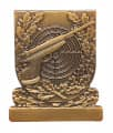 Meisterschaftsabzeichen Luftpistole - Farbe - bronze