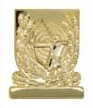 Meisterschaftsabzeichen Bogenschütze - Farbe - gold