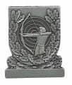 Meisterschaftabzeichen Bogenschütze - Ausführung - altsilber