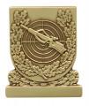 Meisterschaftabzeichen Armbrust - Ausführung - bronze