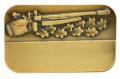 Meisterschaftsabzeichen Luftgewehr - Farbe - bronze