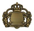 Königsabzeichen 7 - Farbe - altgold