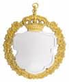 Königsschild 9 - Ausführung - silber/gold