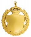 Königsschild 9 - Ausführung - gold