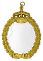 Königsschild 14 - Ausführung - silber/gold