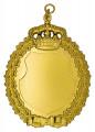 Königsschild 14 - Ausführung - gold