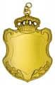 Königsschild 15 - Ausführung - gold