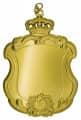 Königsschild 16 - Ausführung - gold