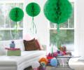 Wabenball in verschiedenen Farben - Farbe - Grün