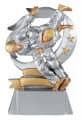 Trophäe Judo FS61405 silber