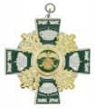 Königsorden mit Eichenlaub - Farbe des Ordens - silber/grün