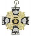 Königsorden mit Eichenlaub - Farbe des Ordens - silber/schwarz