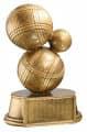 Trophäe Boule FS81511 bronze