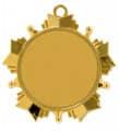 Karnevalsorden Stern - Farbe - gold